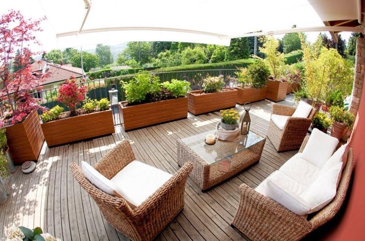Arredare il terrazzo arredare casa come arredare il balcone
