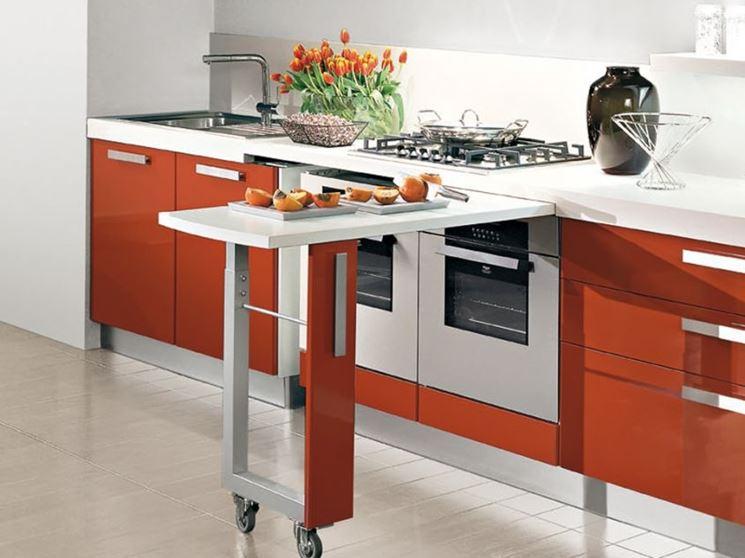Soluzioni salva spazio per piccole cucine