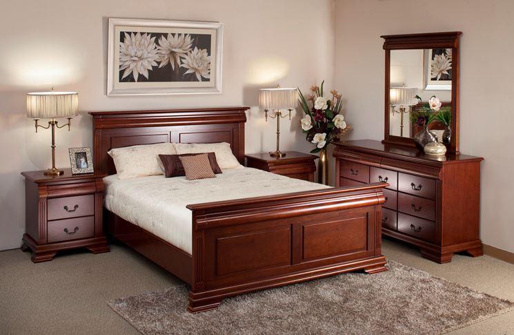 Classico arredo camera da letto