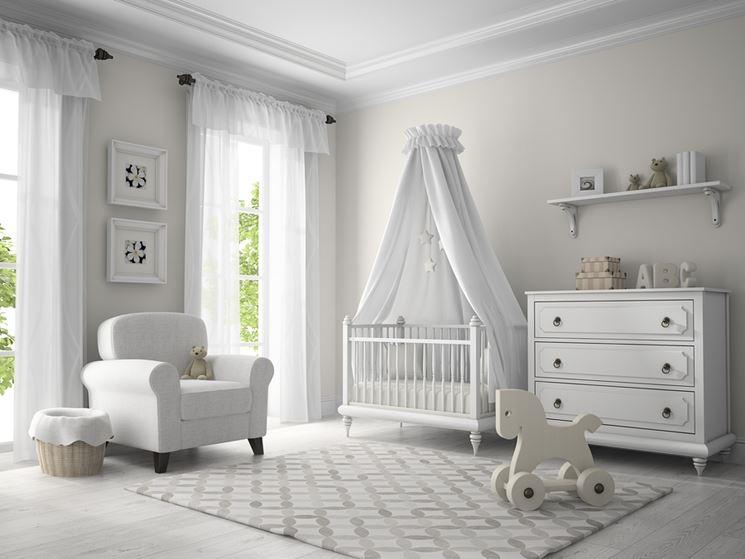 Cameretta per neonato - Arredare casa - Arredare la cameretta del ...