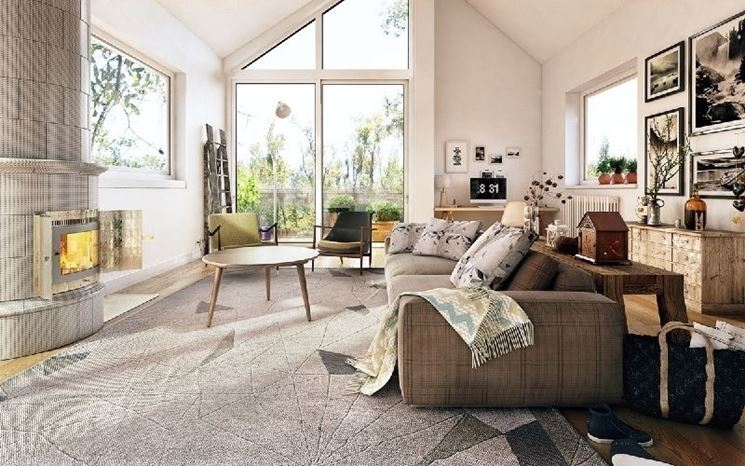 Design nordico soggiorno