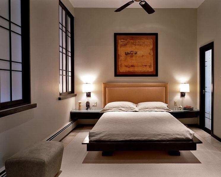 Elegante camera da letto