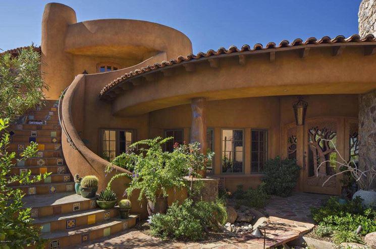 Casa realizzata seguendo i dettami della bioarchitettura