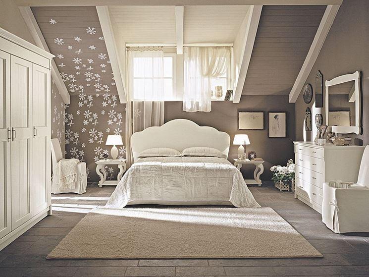 camera da letto » colori camera da letto mansarda - idee popolari ... - Come Imbiancare Una Camera Da Letto