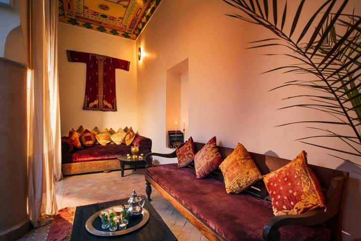 Stile etnico arredare casa arredare in stile etnico - Sofa afrika style ...