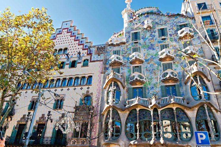 Casa Battlò di Antony Gaudì