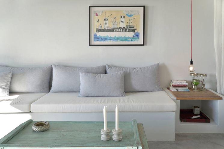 Divani in muratura divani e letti divano in muratura - Divano per esterni ...