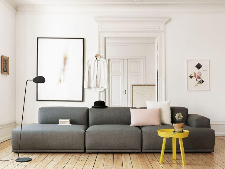 divano modulare moderno