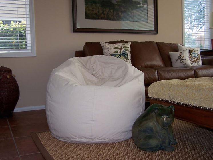 Poltrona sacco in cotone