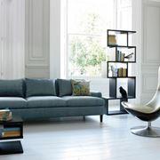 Poltrona da lettura in soggiorno