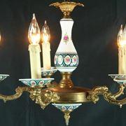 Lampadario ceramica classico