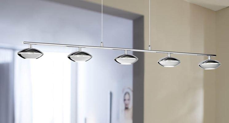 Lampadario moderno lampade lampadari consigli per scegliere lampadario moderno - Lampadari cucina moderni ...