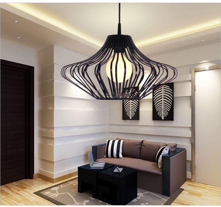 Esempio di lampadario innovativo