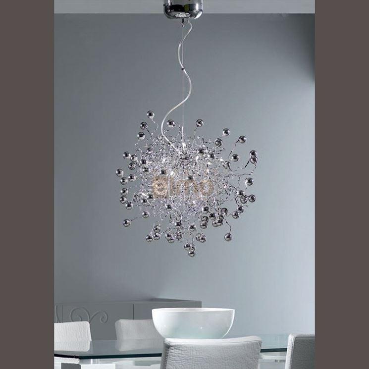 lampadario per casa moderna