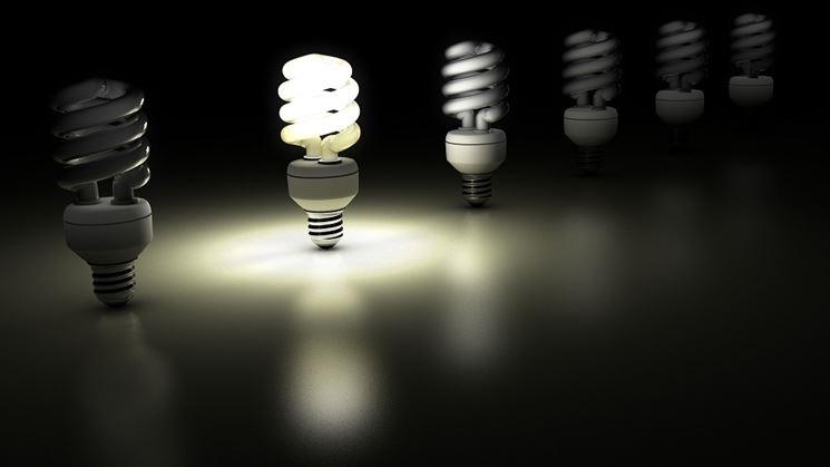lampadina compatta fluorescente