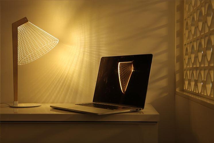 Lampada da tavolo 3D