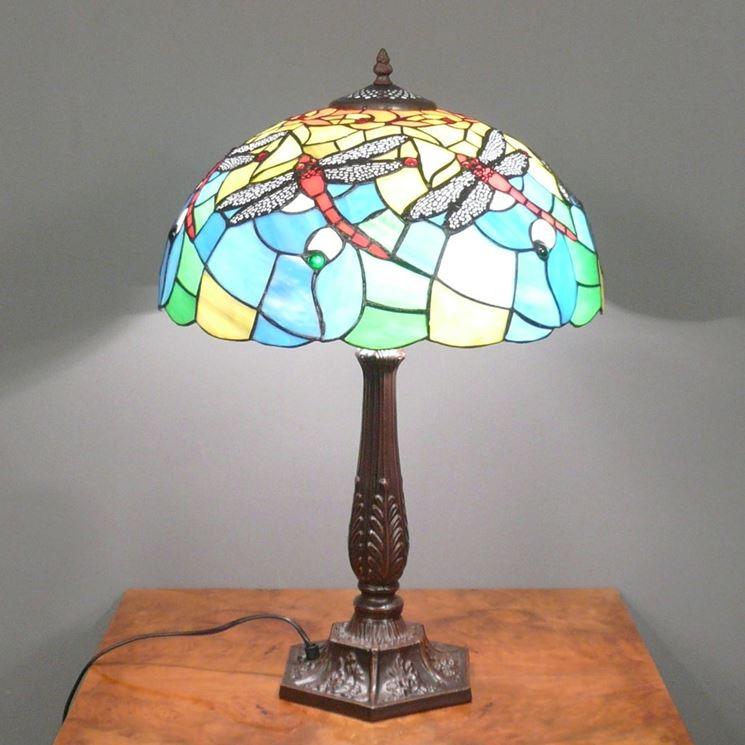 Esempio di lampada Tiffany