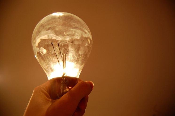esempio di lampadina ad incandescenza