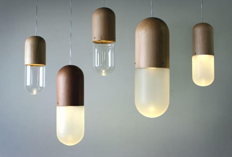 Alcune luci moderne
