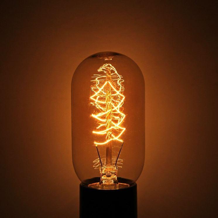 Il filamento di tungsteno, surriscaldandosi, genera energia