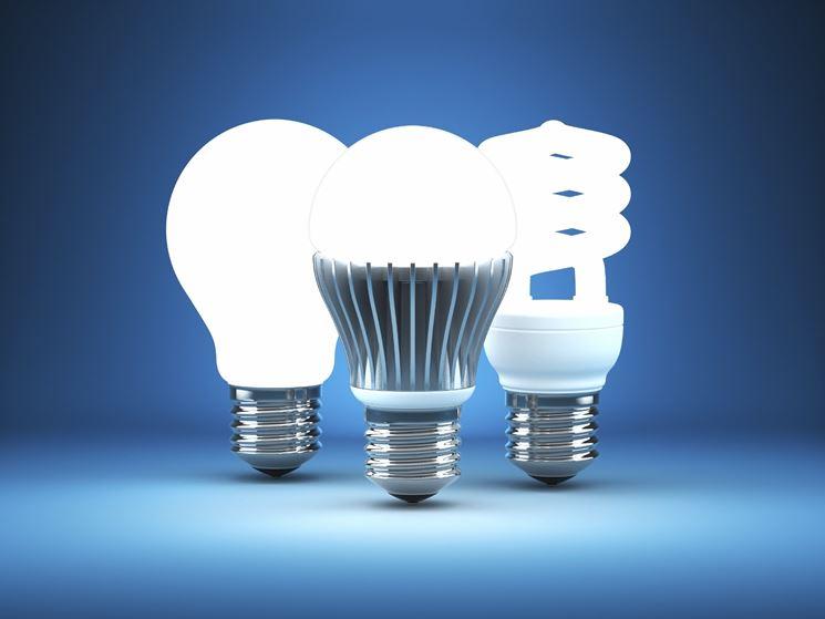 Le lampadine a risparmio energetico