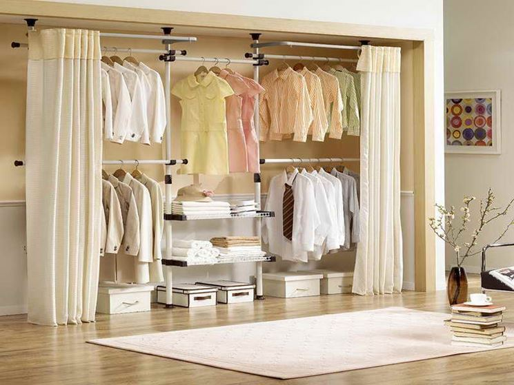 Cabina Armadio Tenda : Cabine armadio mobili casa idee e consigli per una cabina armadio