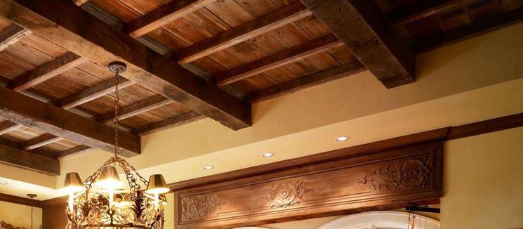Interni in legno restaurati