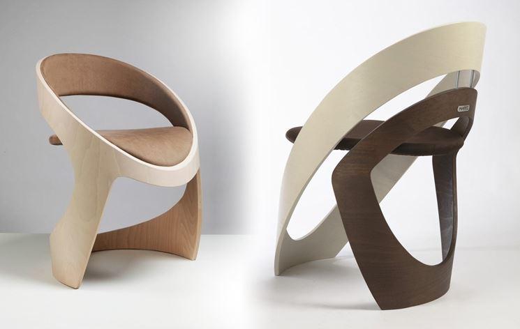 Coppia sedie design
