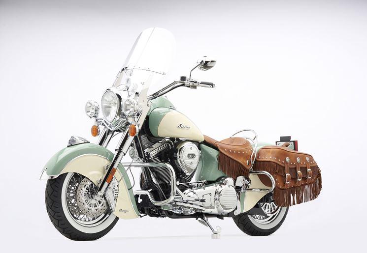 moto d'epoca restaurata