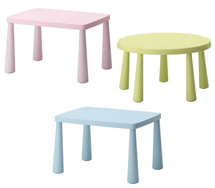 Tavolino con sedie per bambini tavolino con sedie in for Mobili design riproduzioni
