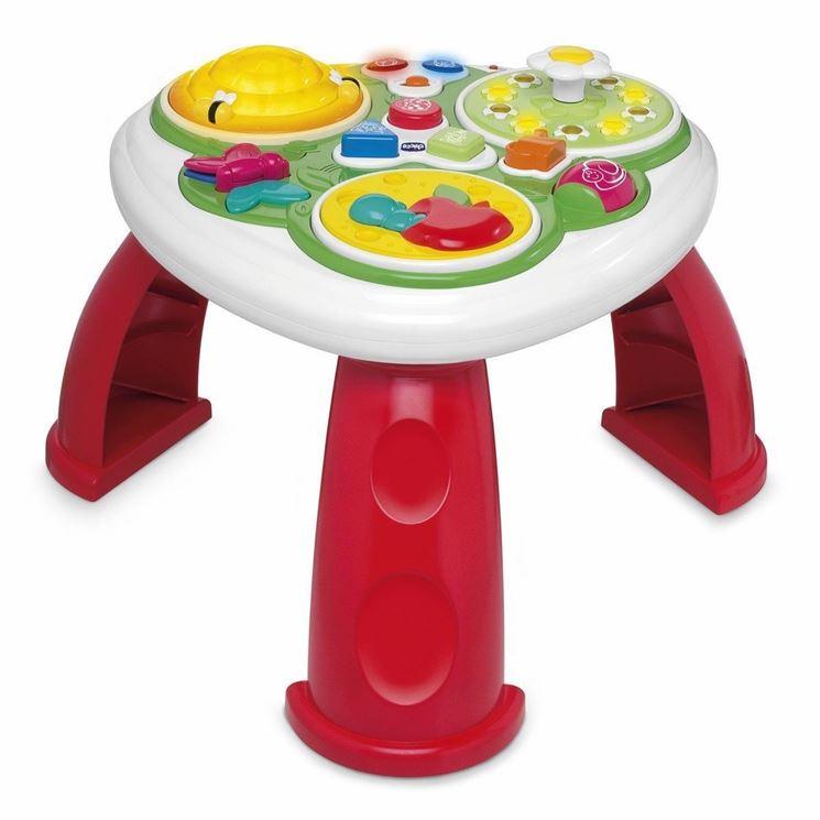 Tavolini per bambini musicali
