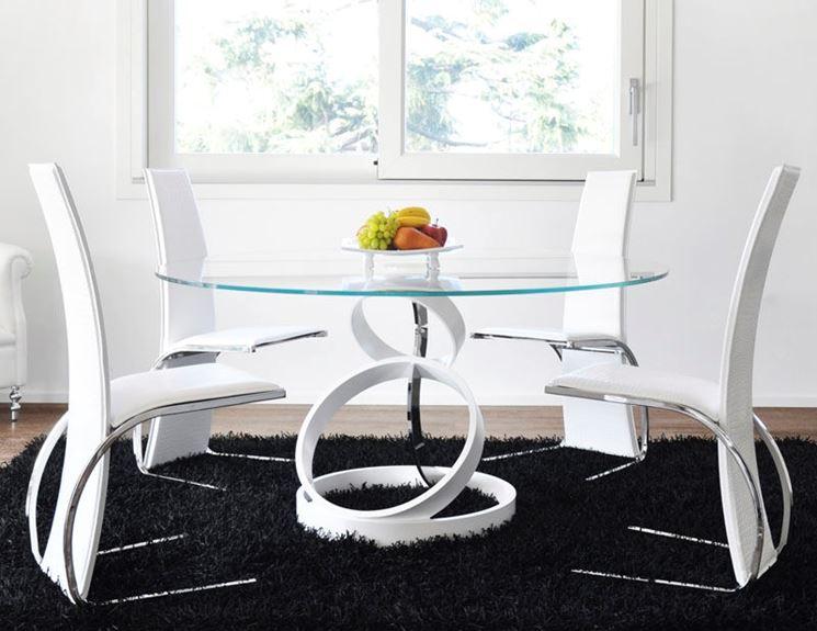 Perch scegliere un tavolo rotondo tavoli e sedie for Tavolo rotondo e sedie