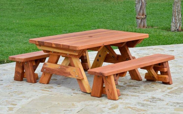 Tavolo da giardino in teak