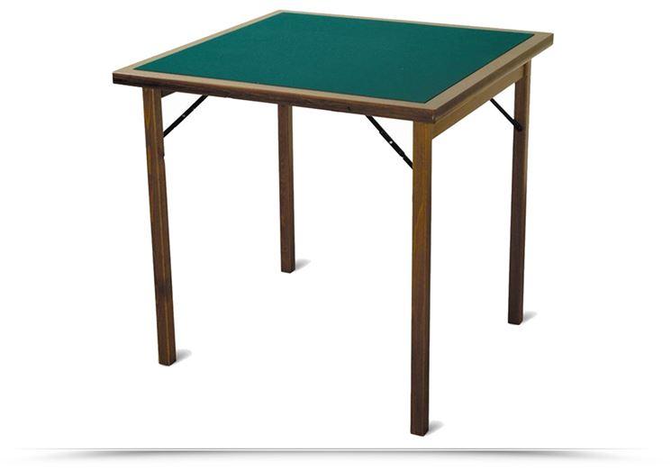 Un tavolo verde da gioco