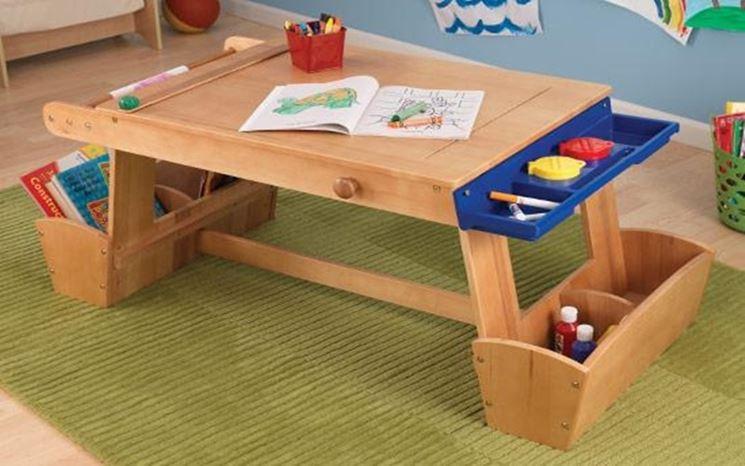 Tavolini per bambini tavoli e sedie modelli tavolino for Tavolino per bambino