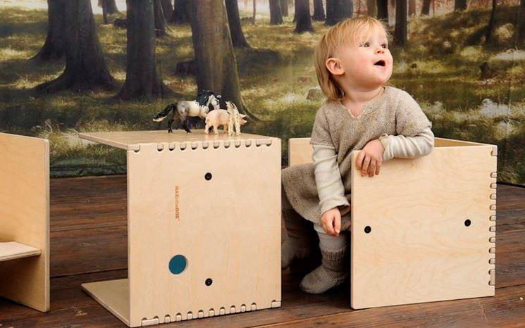 Tavolino in legno ecologico