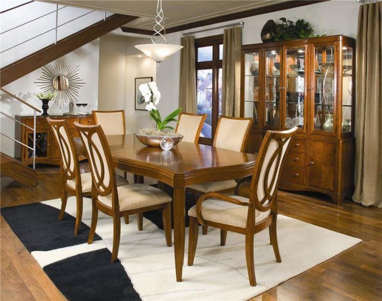 Tavolo classico - Tavoli e sedie - Caratteristiche del tavolo classico