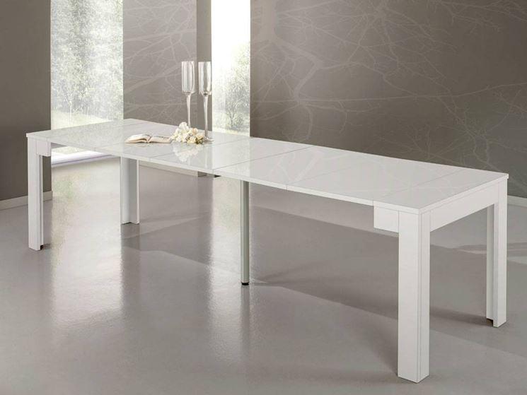 Tavolo consolle allungabile tavoli e sedie tavolo allungabile consolle - Tavolo a consolle allungabile ...
