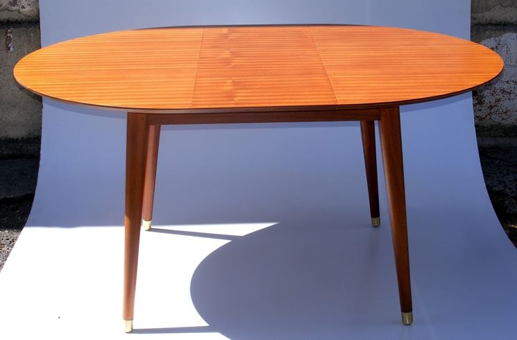 Tavolo rotondo allungabile