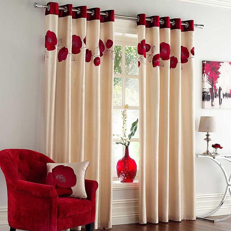 Tende da salotto   tende moderne   scegliere le tende da salotto