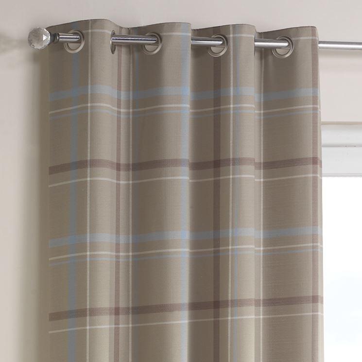 Esempio di tende in lino