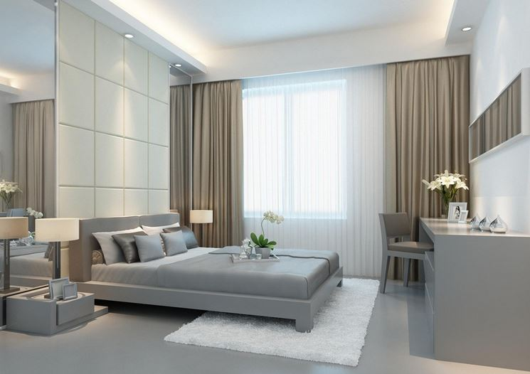 Un esempio di camera da letto matrimoniale