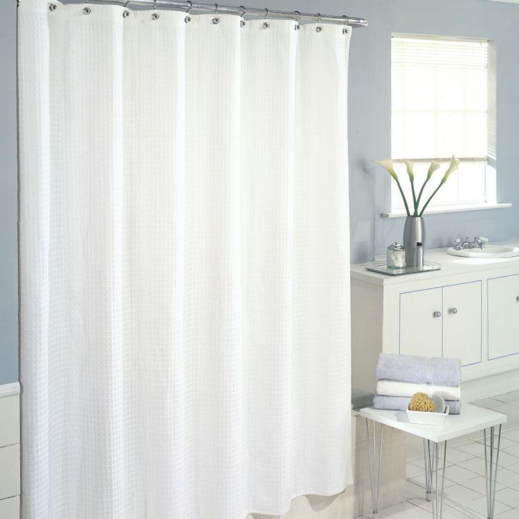 Tende per vasca da bagno tende moderne scegliere tenda - Tende per il bagno immagini ...