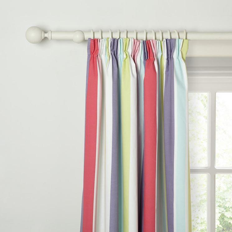 Aste per tende tende per interni scegliere le aste per tende - Aste per tende finestre ...