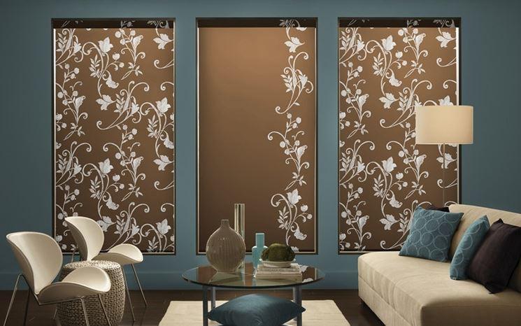 Tende a pannello moderne tende per interni tende - Tende a pannello design ...