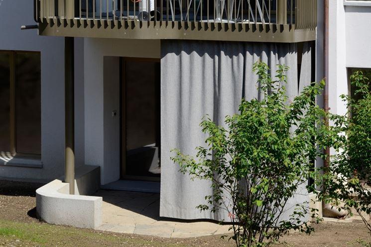 Esempio di tende per giardino