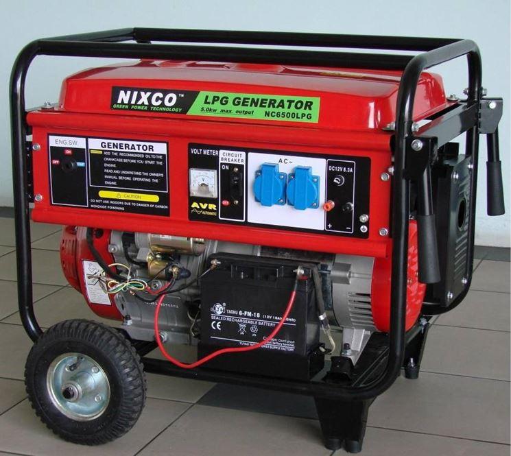 Un generatore di corrente di medie dimensioni