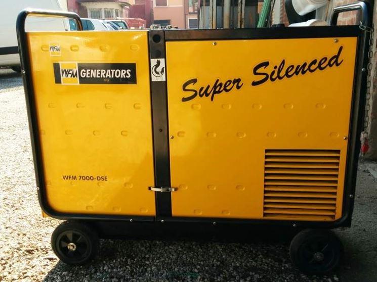 Un generatore di corrente professionale