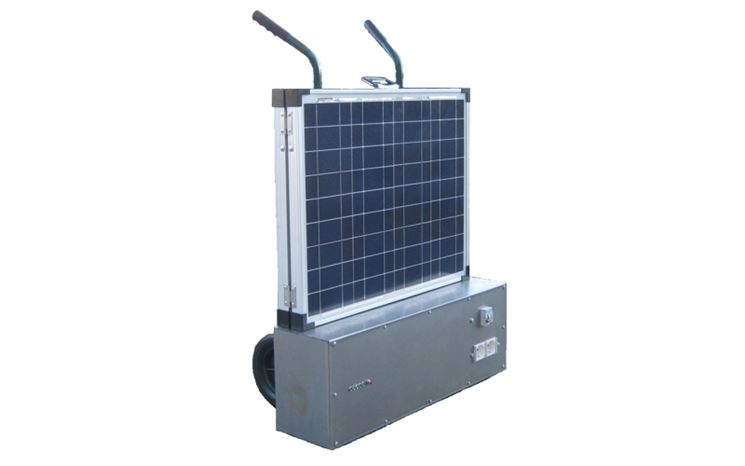 Un generatore di corrente a energia solare