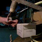 Rappresentazione di una puntatrice elettrica